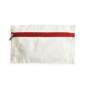 Cotton Pencil Case with logo
