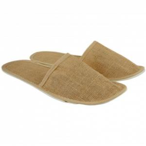 Jute slipper for hotels