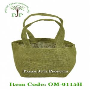 Small Jute Tote Bags manufacturer