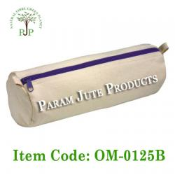 Cotton Canvas Pencil Box manufacturer