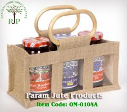 Supplier of Jute Bottle Bags