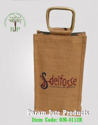 Manufacturer of Promotional Jute Gift Bags from India