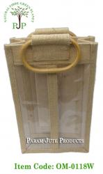 Natural Jute Wine Bags manufacturer