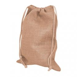 Printed jute pouches