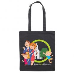 Cotton carry bags with multicolour printing