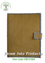 Natural Jute File Folder supplier