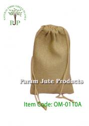 Jute drawstring bag manufacturer