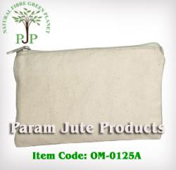 Cotton Pencil Pouch manufacturer & exporter