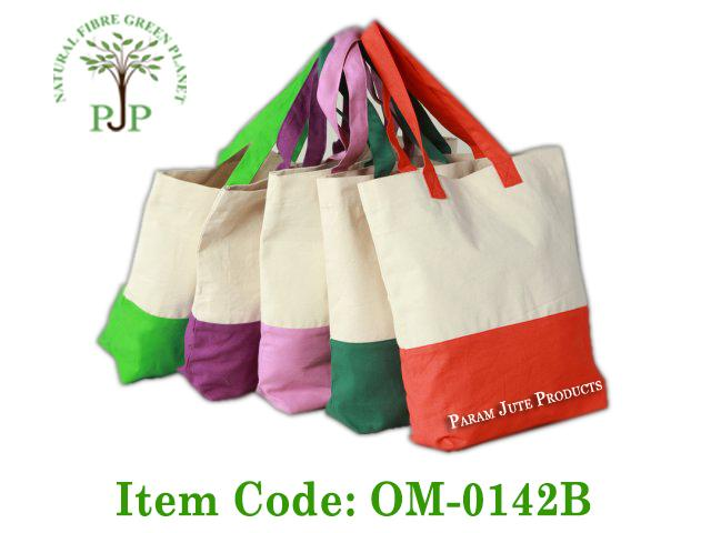 Cotton shopping bags and tote bags manufacturer in India