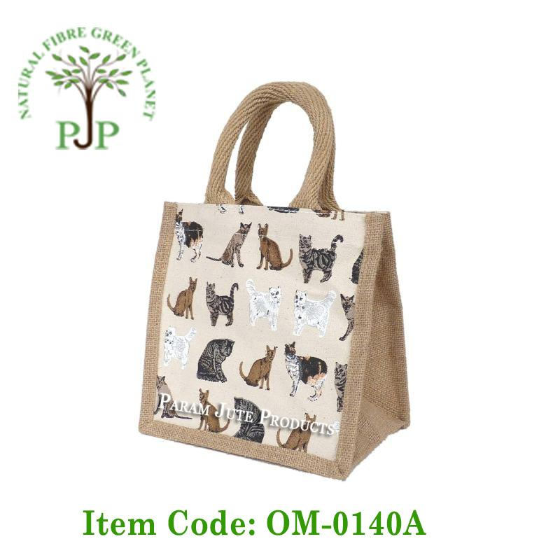 5bcc07130274 Jute Lunch Bags manufacturer and exporter from India