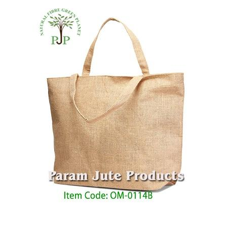 Eco-friendly Jute Shopping Carry Bags manufacturer in India